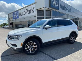 Used 2019 Volkswagen Tiguan Comfortline | HEATED LEATHER SEATS | BLIND SPOT MONITORING | APPLE CARPLAY & ANDROID AUTO | BACKUP CAMERA | for sale in Innisfil, ON