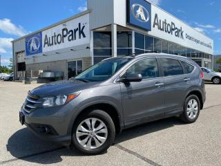 Used 2014 Honda CR-V Touring   HEATED LEATHER SEATS   SUNROOF   BLUETOOTH   BACKUP CAMERA   for sale in Innisfil, ON
