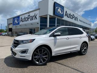 Used 2018 Ford Edge Sport   HEATED AND COOLED LEATHER SEATS   NAVIGATION   APPLE CARPLAY & ANDROID AUTO   BACKUP CAMERA   for sale in Innisfil, ON