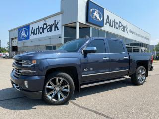 Used 2018 Chevrolet Silverado 1500 2LZ | HEATED & COOLED LEATHER SEATS | HEATED STEERING WHEEL | SUNROOF | APPLE CARPLAY & ANDROID AUTO | for sale in Innisfil, ON
