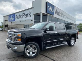 Used 2014 Chevrolet Silverado 1500 2LZ | HEATED LEATHER SEATS | BLUETOOTH | BACKUP CAMERA | 4x4 | for sale in Innisfil, ON
