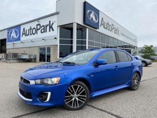 Used 2016 Mitsubishi Lancer GTS | HEATED LEATHER SEATS | SUNROOF | BLUETOOTH | BACKUP CAMERA | for sale in Innisfil, ON