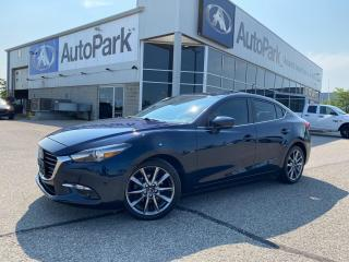 Used 2017 Mazda MAZDA3 GT | HEATED LEATHER SEATS | HEATED STEERING WHEEL | BLUETOOTH | BACKUP CAMERA | for sale in Innisfil, ON