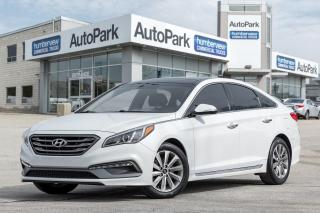 Used 2015 Hyundai Sonata Sport BACKUP CAM PANO ROOF HEATED SEATS ALLOYS for sale in Mississauga, ON