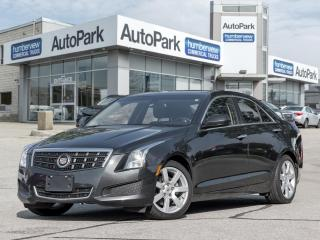 Used 2014 Cadillac ATS 2.5L SUNROOF BOSE SOUND LEATHER BLUETOOTH for sale in Mississauga, ON