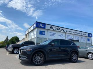 Used 2019 Mazda CX-5 Signature HEADS UP DISPLAY | SUNROOF | LEATHER SEATS | NAV | for sale in Brampton, ON