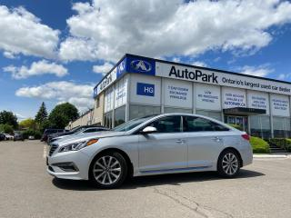 Used 2017 Hyundai Sonata Limited NAV   PANORAMIC ROOF   LEATHER SEATS   MEMORY SEAT   for sale in Brampton, ON