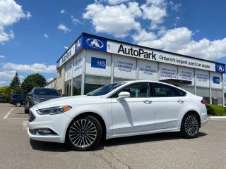 Used 2017 Ford Fusion SUNROOF   REAR CAMERA   NAV   LEATHER SEATS   for sale in Brampton, ON