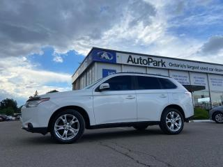Used 2014 Mitsubishi Outlander GT SUNROOF | LEATHER SEATS | REAR CAMERA | LANE ASSIST | for sale in Brampton, ON