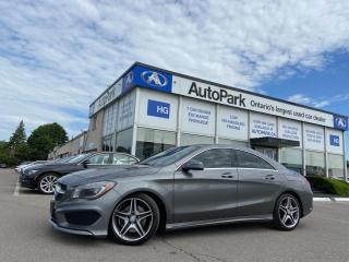 Used 2016 Mercedes-Benz CLA-Class SUNROOF   NAV   LEATHER SEATS   MEMORY SEAT   for sale in Brampton, ON