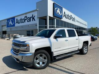Used 2017 Chevrolet Silverado 1500 2LZ | HEATED LEATHER SEATS | APPLE CARPLAY & ANDROID AUTO | BACKUP CAMERA | 4x4 | for sale in Innisfil, ON