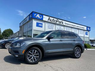 Used 2018 Volkswagen Tiguan Comfortline NAV | PANORAMIC ROOF | LEATHER SEATS | APPLE CAR PLAY | ANDROID AUTO | for sale in Brampton, ON