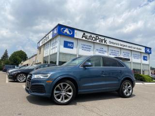 Used 2018 Audi Q3 2.0T Progressiv NAV | PANORAMIC ROOF | HEATED SEATS | PARKING SENSOR | for sale in Brampton, ON