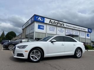 Used 2017 Audi A4 2.0T Komfort SUNROOF | LEATHER SEATS | HEATED SEATS | POWER DRIVER SEAT | for sale in Brampton, ON