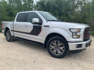 Used 2016 Ford F-150 SUPERCREW LARIAT SPORT 4X4 *NAV - PANORAMIC ROOF* for sale in Winnipeg, MB