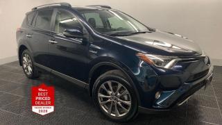Used 2018 Toyota RAV4 AWD HYBRID LIMITED *NAV - HTD LEATHER - SUNROOF* for sale in Winnipeg, MB