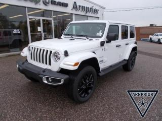 New 2021 Jeep Wrangler 4xe Unlimited Sahara 4xe for sale in Arnprior, ON