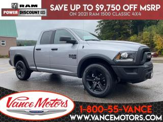 New 2021 RAM 1500 Classic Warlock 4x4...V6*BLUETOOTH*BACKUP CAM! for sale in Bancroft, ON