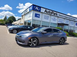 Used 2017 Honda Civic Touring SUNROOF | LEATHER SEATS | LANE ASSIST | HEATED SEATS | for sale in Brampton, ON