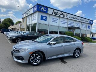 Used 2016 Honda Civic LX HEATED SEATS   REAR CAMERA   BLUETOOTH   HONDA LINK   for sale in Brampton, ON