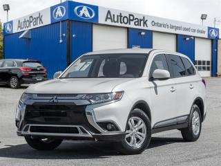 Used 2020 Mitsubishi Outlander ES S-AWC BACKUP CAM|HEATED SEATS|BLUETOOTH|AWC for sale in Georgetown, ON