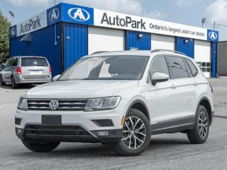 Used 2018 Volkswagen Tiguan Comfortline 2.0T 8sp at w/Tip 4MOTION (2) NAV|BACKUP CAM|HEATED SEATS|4MOTION for sale in Georgetown, ON