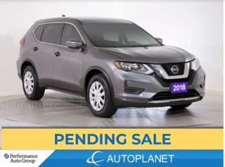 Used 2018 Nissan Rogue S, Back Up Cam, Android Auto, Bluetooth! for sale in Brampton, ON