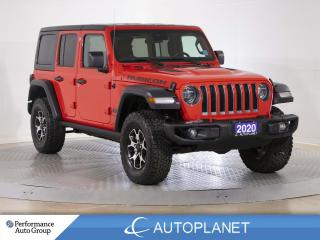 Used 2020 Jeep Wrangler Unlimited Rubicon 4x4, Cold Weather Grp, Back Up Cam! for sale in Brampton, ON