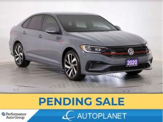 Used 2020 Volkswagen Jetta GLI, Back Up Cam, Sunroof, Cooled Seats, Leather! for sale in Brampton, ON