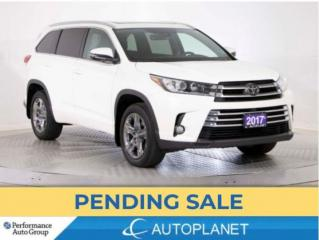 Used 2017 Toyota Highlander Limited AWD, 7-Seater, Navi, New Tires/Brakes! for sale in Brampton, ON