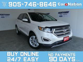 Used 2017 Ford Edge SEL | AWD | V6 |  ROOF | LEATHER | NAV | ONLY 37KM for sale in Brantford, ON