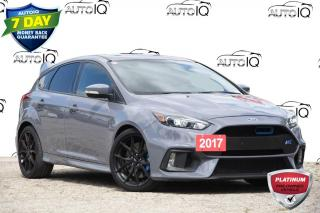 Used 2017 Ford Focus RS LOCAL TRADE | 2.3L GTDI | MOONROOF | NAV for sale in Kitchener, ON