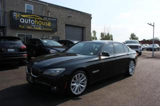 Used 2009 BMW 7 Series 750i/SUNROOF/BACKUP CAMERA/LEATHER INTERIOR/ACCIDENT FREE for sale in Newmarket, ON