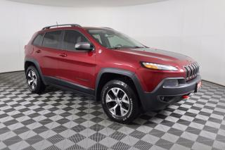 Used 2016 Jeep Cherokee Trailhawk LOCAL TRADE-IN | LEATHER | 8.4 INCH TOUCHSCREEN for sale in Huntsville, ON