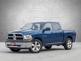 Used 2010 Dodge Ram 1500 ST Crew Cab 4WD CERTIFIED! LOW KMS! for sale in London, ON