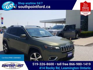 Used 2019 Jeep Cherokee Limited LTD NAV HTD SEATS HTD STEERING REMOTE START  for sale in Leamington, ON