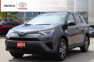 Used 2017 Toyota RAV4 LE FWD with New Tires and Clean Carfax for sale in Oakville, ON