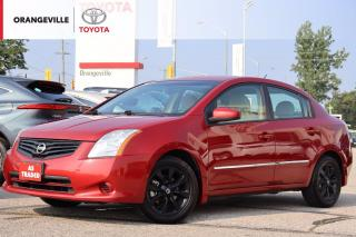 Used 2012 Nissan Sentra 2.0 S, AUTO, LOW KMS!, HEATED SEATS, ALLOY WHEELS, KEYLESS ENTRY, AS-TRADED for sale in Orangeville, ON