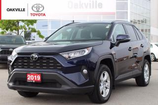Used 2019 Toyota RAV4 XLE AWD with Clean Carfax and SiriusXM for sale in Oakville, ON