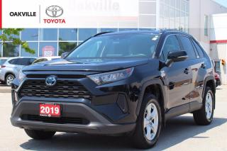 Used 2019 Toyota RAV4 Hybrid Hybrid LE AWD with New Rear Brakes and ScoutGPS for sale in Oakville, ON