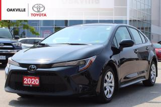Used 2020 Toyota Corolla LE with Remaining Factory Warranty and Fully Dealer Certified! for sale in Oakville, ON