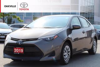 Used 2019 Toyota Corolla LE with New Tires and Clean Carfax for sale in Oakville, ON