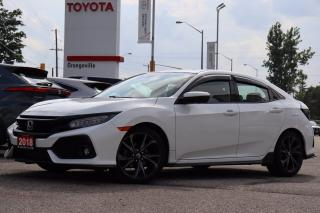 Used 2018 Honda Civic Sport Touring SPORT TOURING, SUNROOF, HEATED SEATS, NAVIGATION, BRAKE/LANE KEEP ASSIST, PREMIUM AUDIO SYSTEM for sale in Orangeville, ON