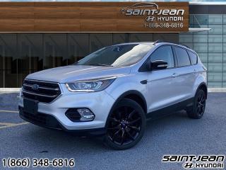 Used 2017 Ford Escape Titanium AWD // CUIR + TOIT + CAMERA for sale in Saint-Jean-sur-Richelieu, QC