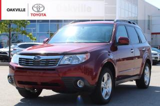 Used 2010 Subaru Forester 2.5 X Limited Package X Limited with Leather Seats and SiriusXM | SELF CERTIFY for sale in Oakville, ON