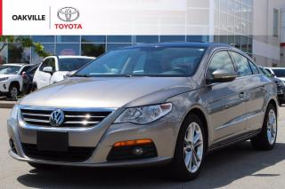 Used 2012 Volkswagen Passat CC Sportline with Leather Seats and Power Moonroof | SELF CERTIFY for sale in Oakville, ON