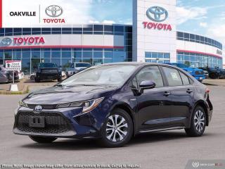New 2021 Toyota Corolla Hybrid w/Li Battery Hybrid for sale in Oakville, ON