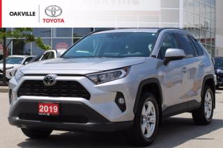 Used 2019 Toyota RAV4 XLE AWD with Clean Carfax and Fully Dealership Certified! for sale in Oakville, ON