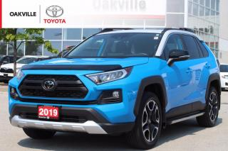 Used 2019 Toyota RAV4 Trail AWD With Leather Seats and Running Boards for sale in Oakville, ON
