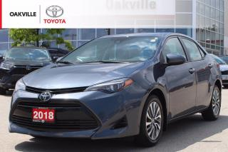 Used 2018 Toyota Corolla XLE with Leather Seats and Navigation for sale in Oakville, ON